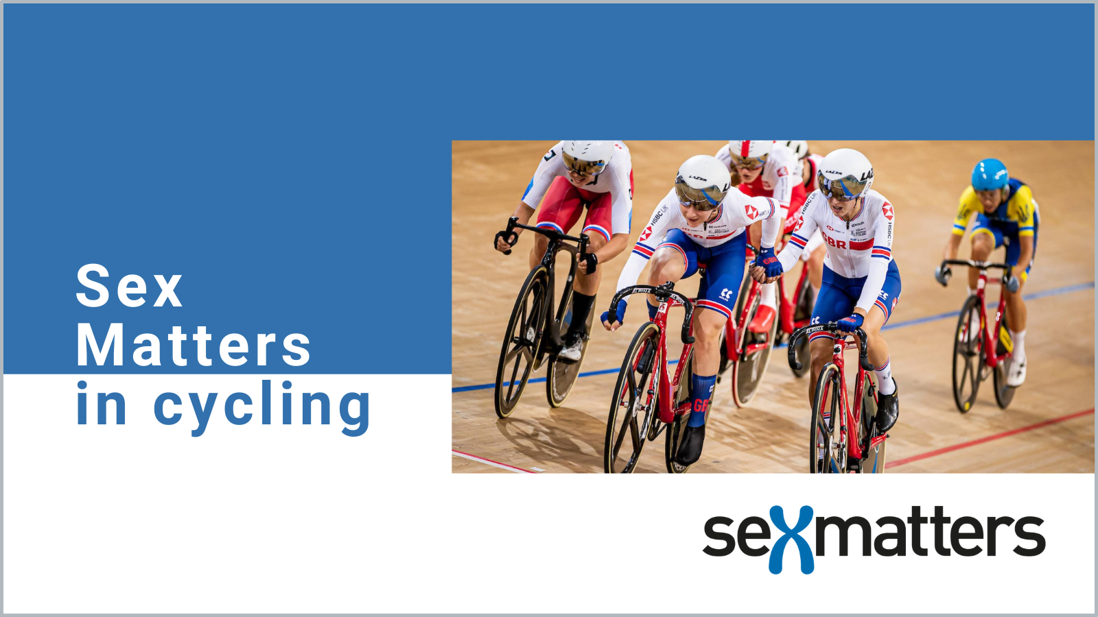 Sex Matters in cycling