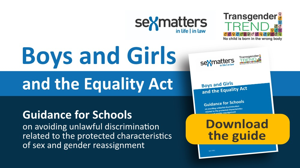Boys and Girls and the Equality Act cover