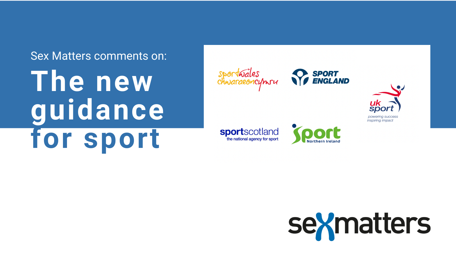 Sex Matters comments on new guidance for sport